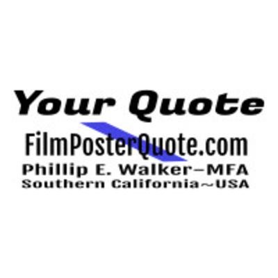 Film Poster Quote