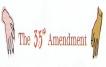 33rd Amendment Logo