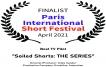 Finalist - Paris International Short Festival 2021
