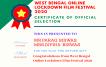 LOCKDOWN FILM FEST OFFICIAL SELECTION CERTIFICATE