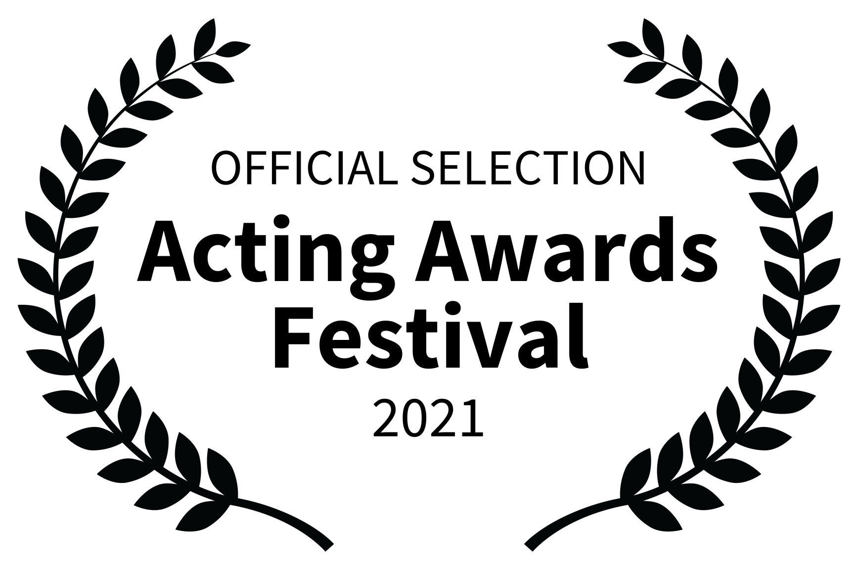 Official Selection - Acting Awards 2021