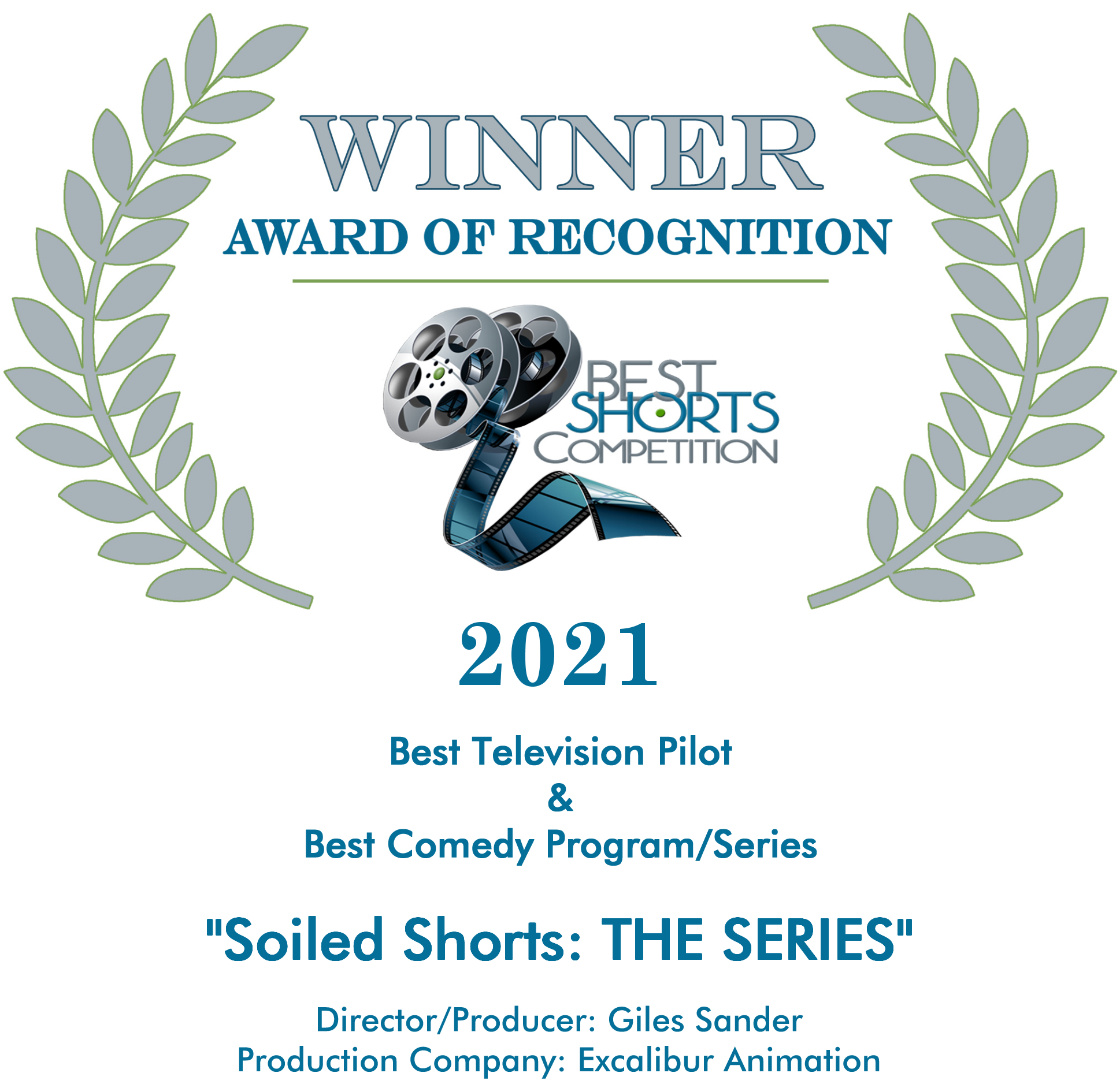 Winner - Award of Recognition Best Shorts Competition 2021