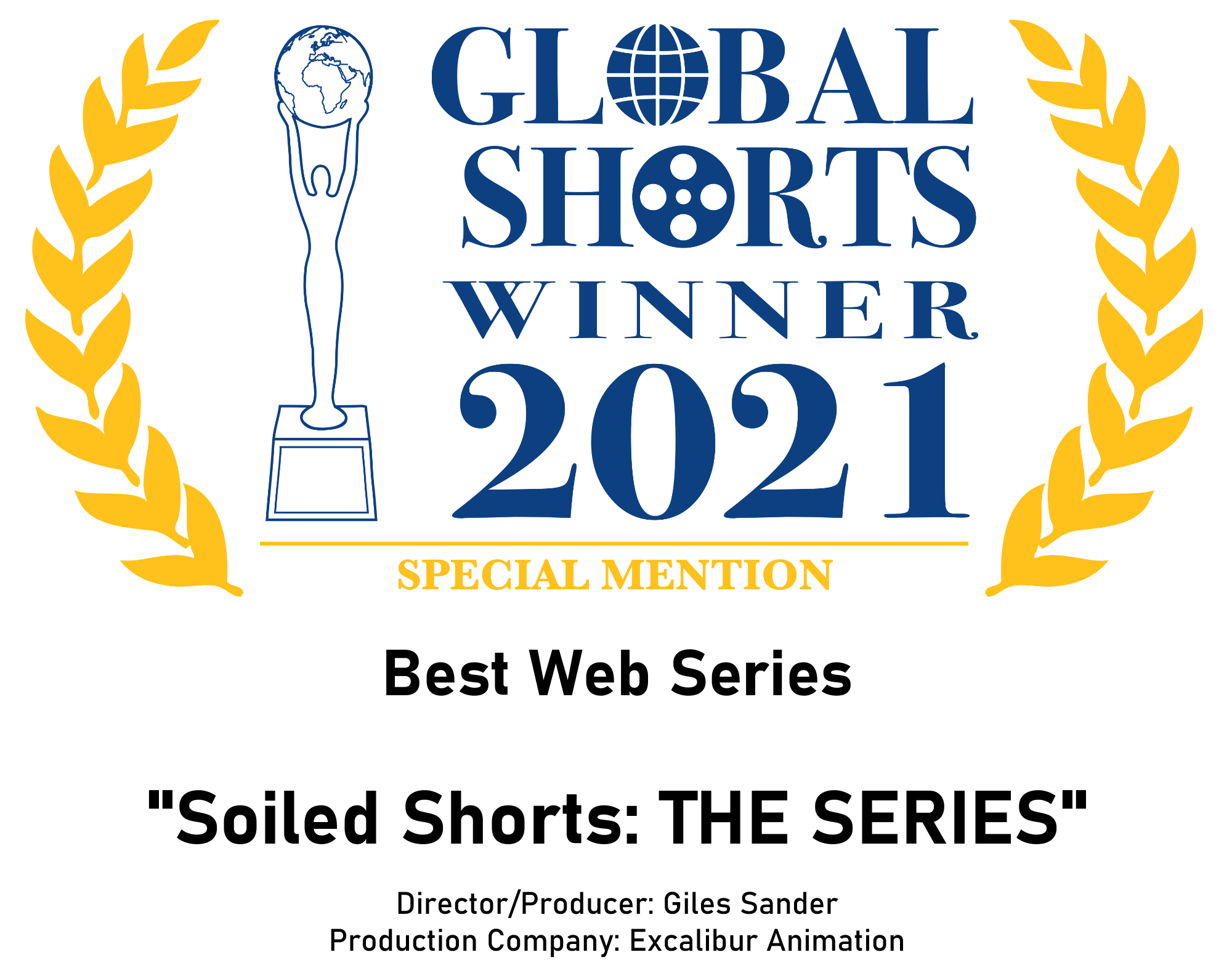 Winner - Global Shorts 2021 Special Mention
