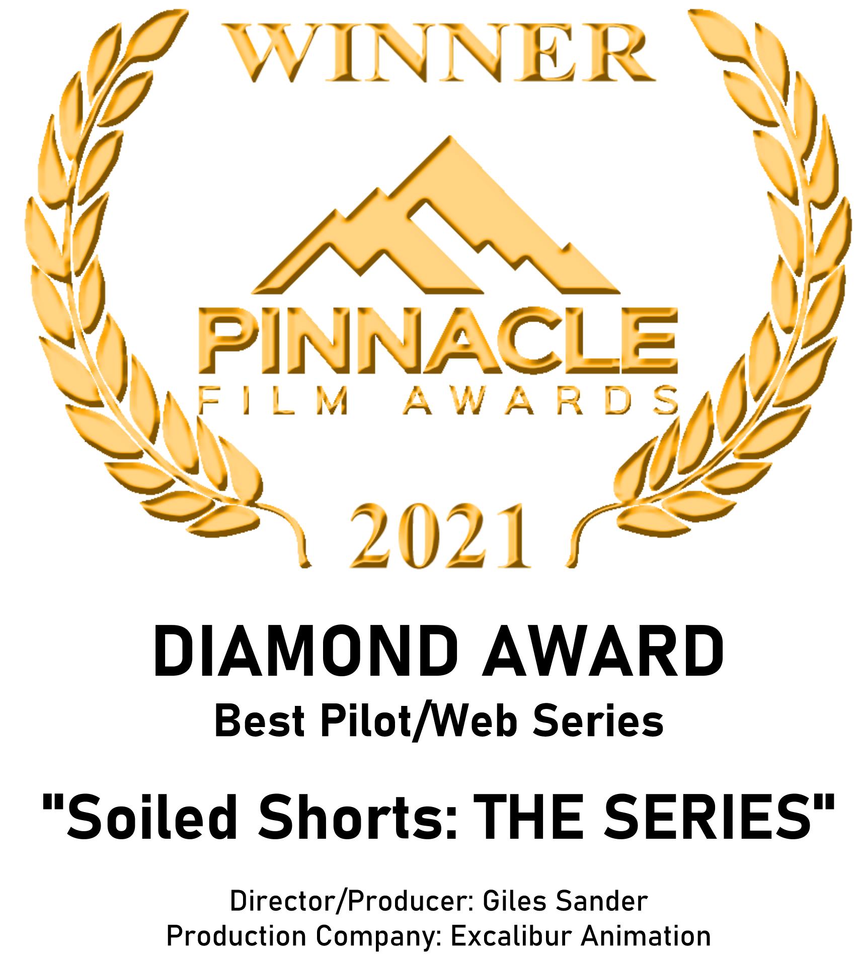 Winner - Diamond Award for Best Pilot/Web Series Pinnacle Film Awards 2021