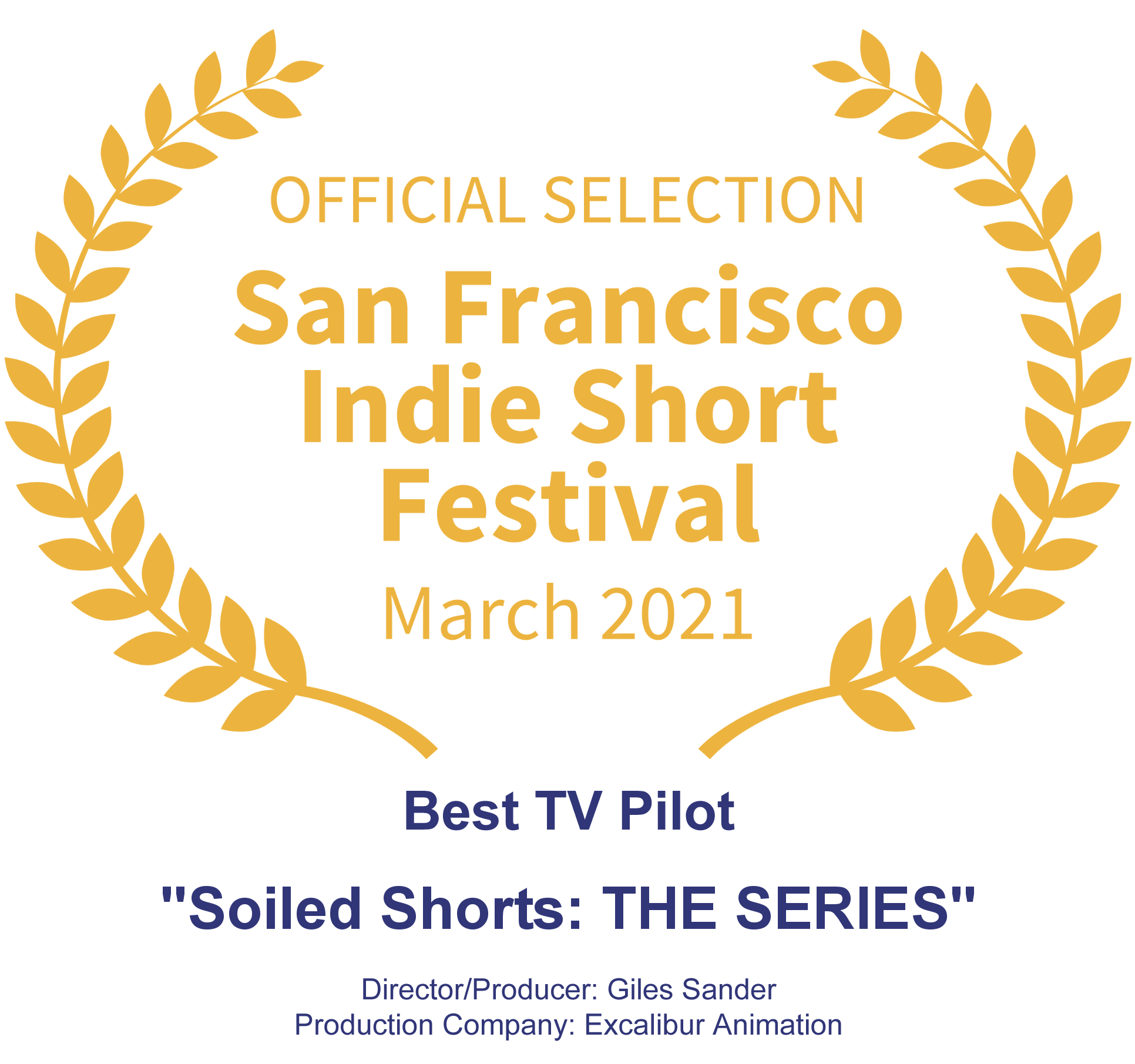 Official Selection - San Francisco Indie Short Festival March 2021