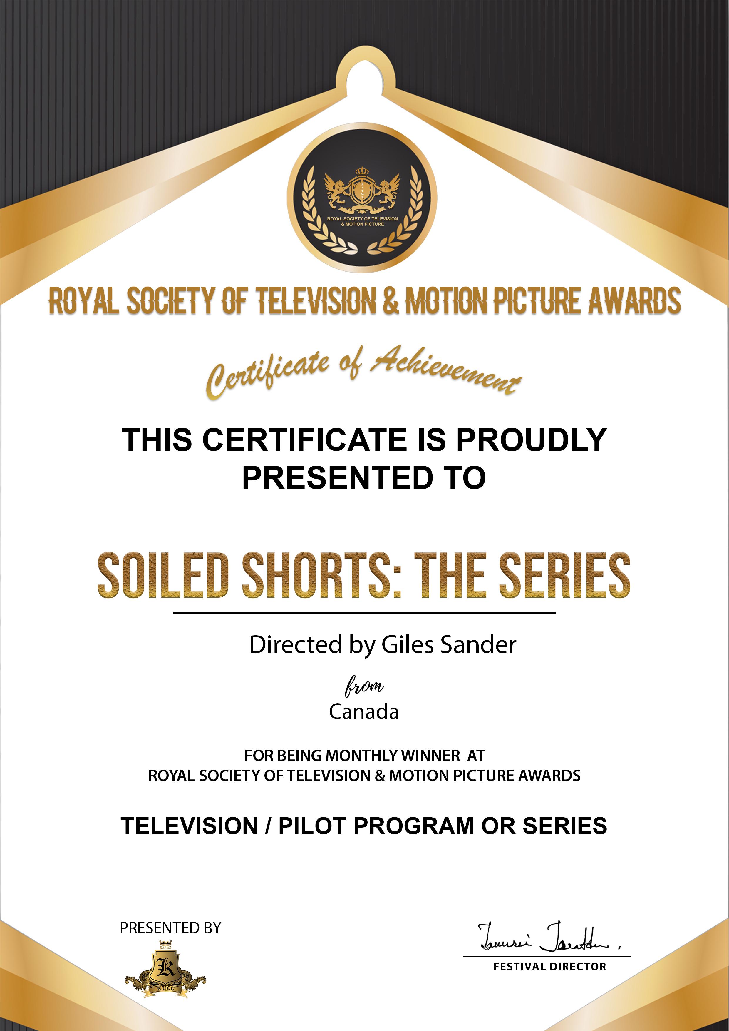 Royal Society TMPA