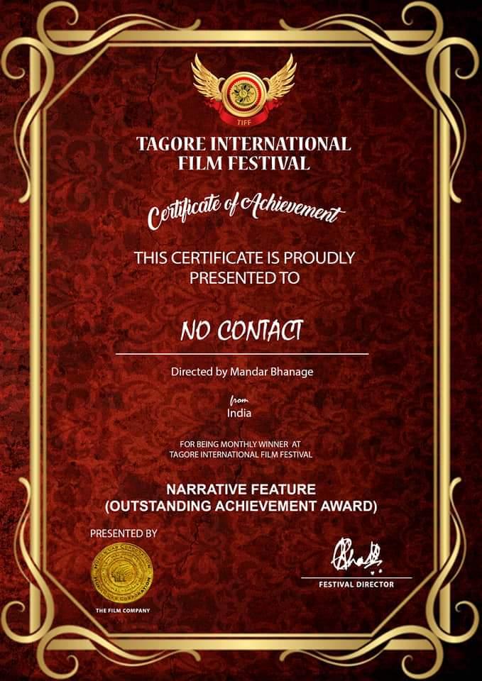 AWARDS/CERTIFICATES/LAURELS NO CONTACT