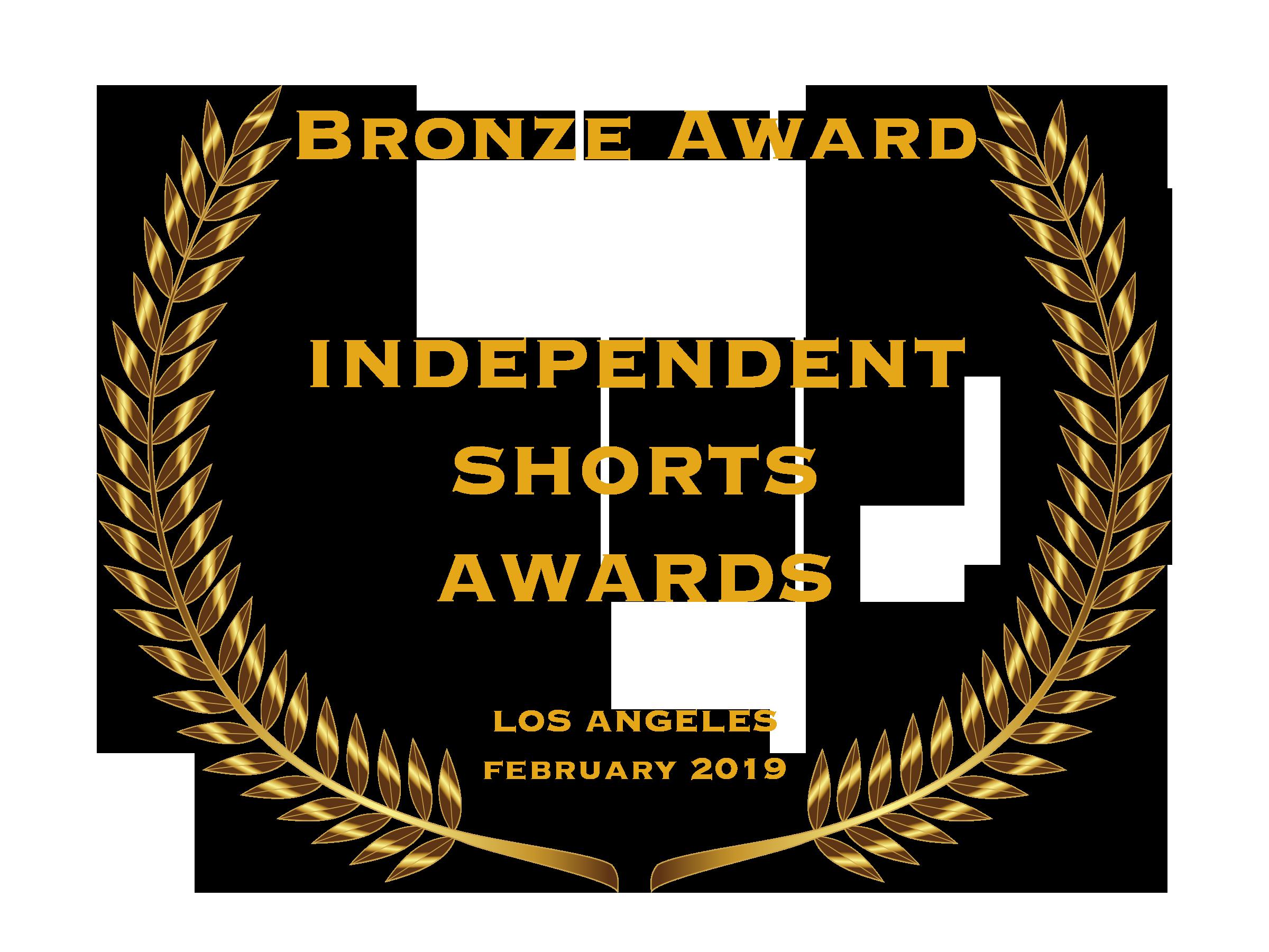 Independent Shorts Awards ~ Bronze Award Best Documentary Short