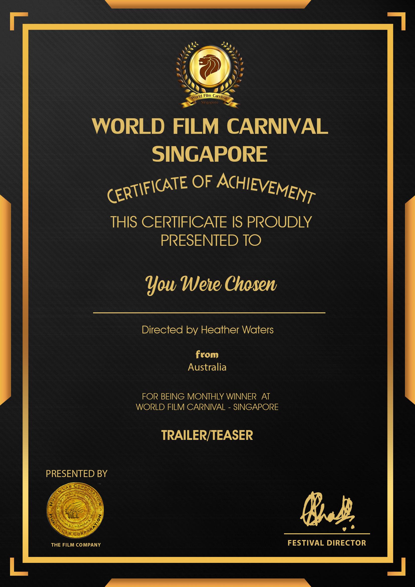 World Film Carnival Singapore