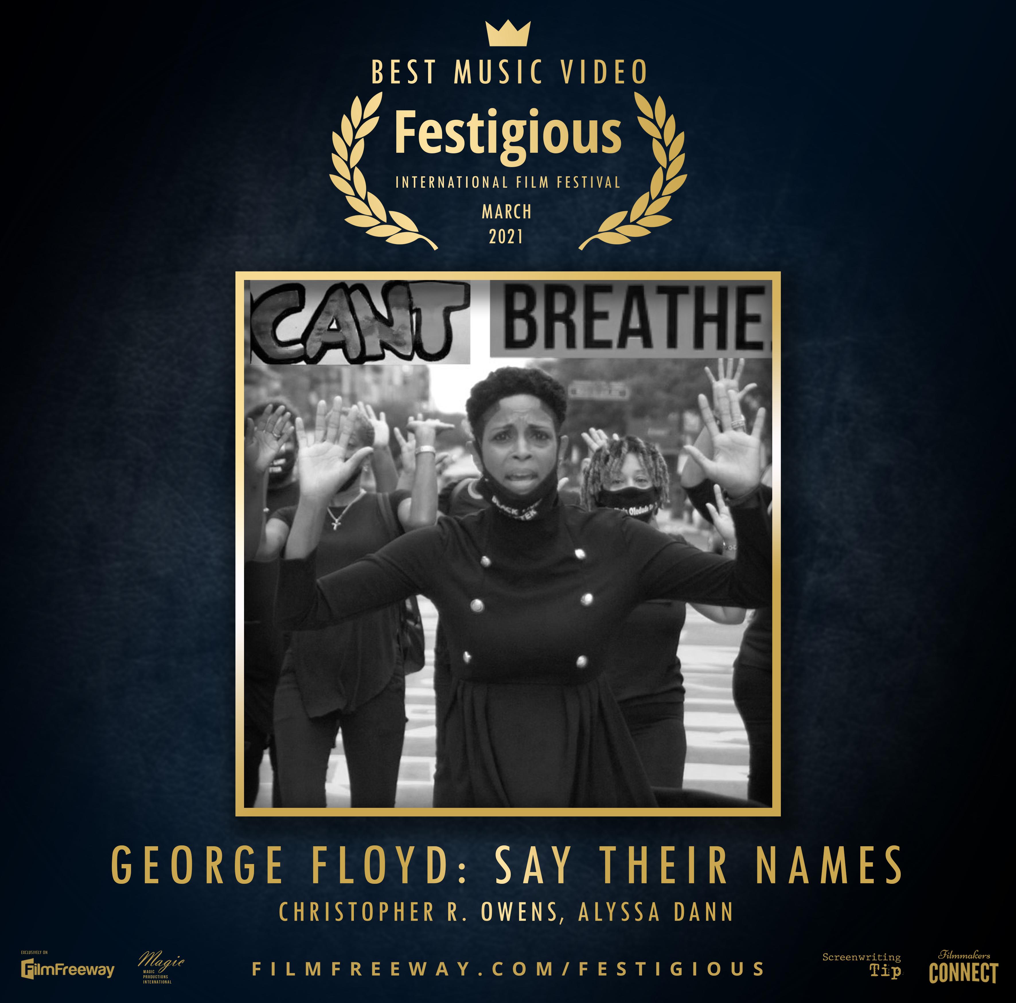 Winner - Festigious Film Festival
