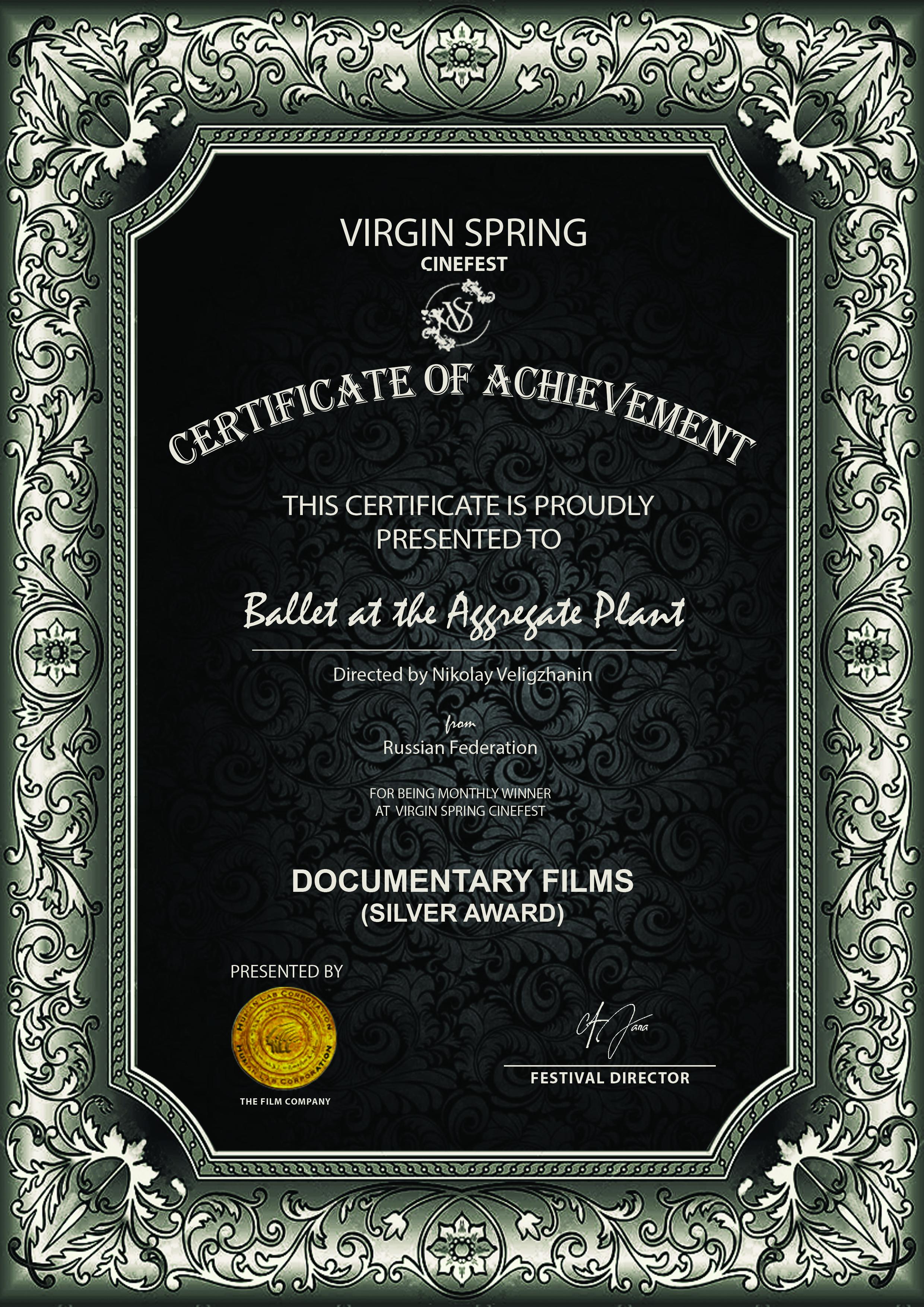 Virgin Spring Cinefest