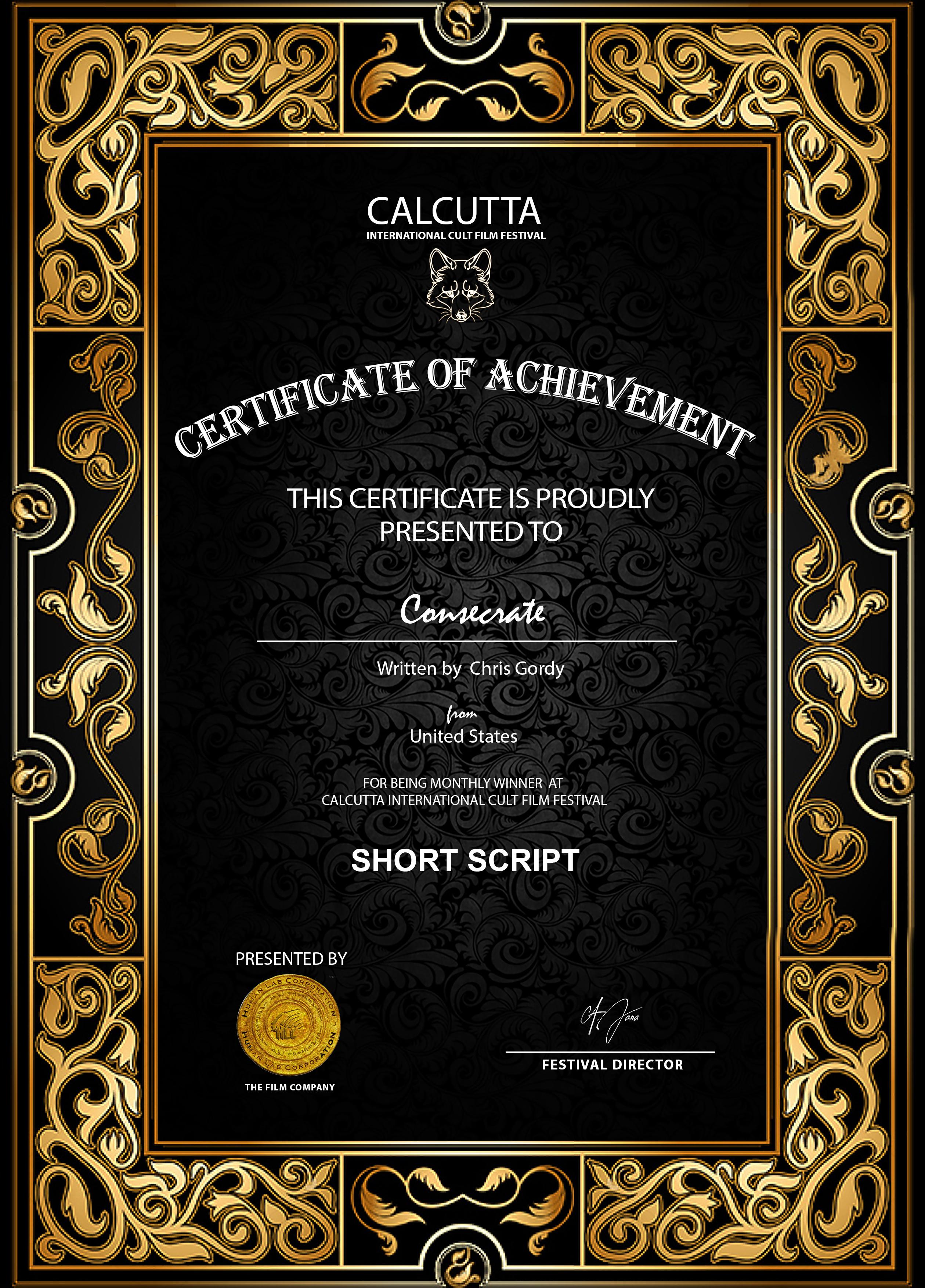 Calcutta Film Festival