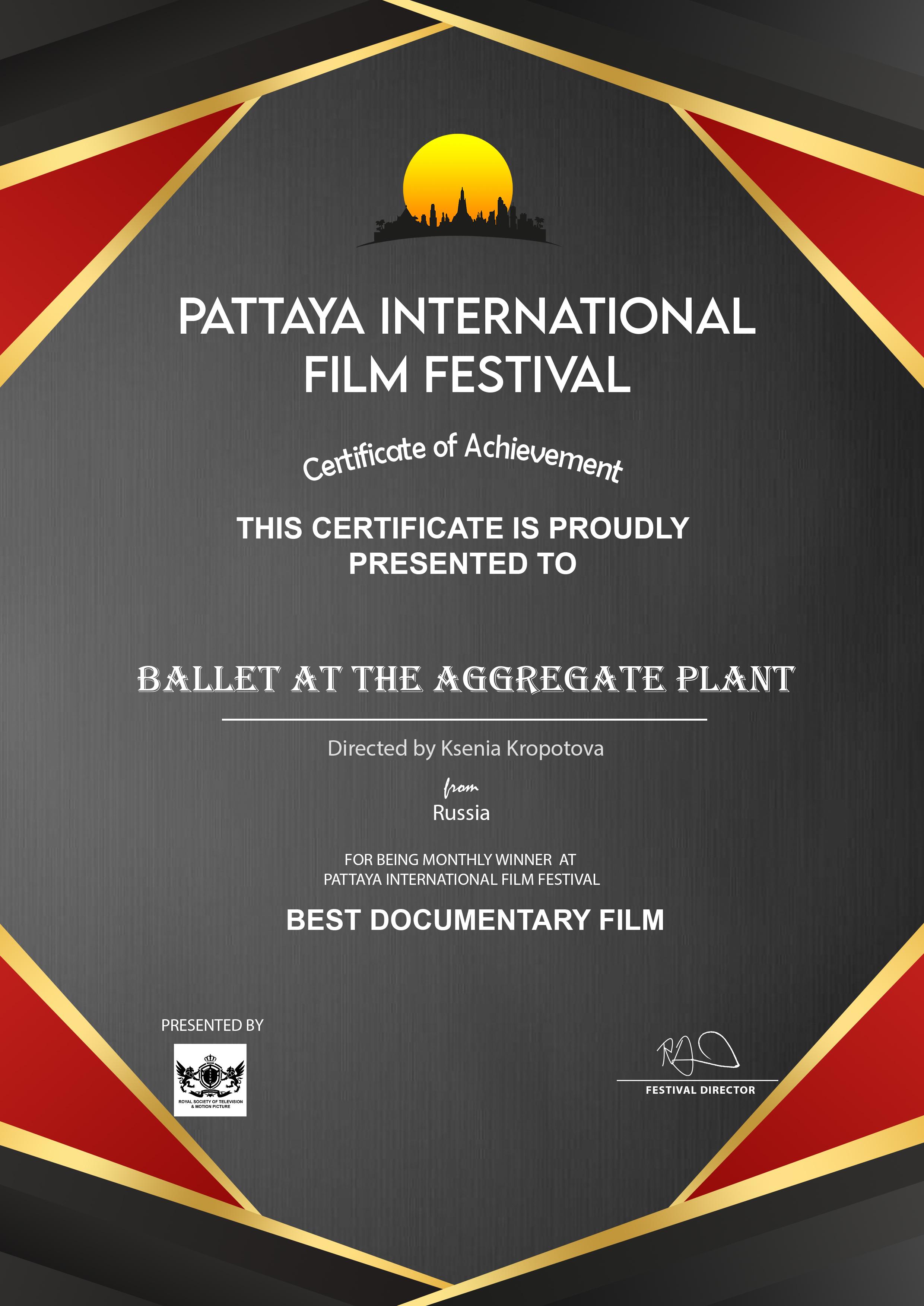 Pattaya International Film Festival