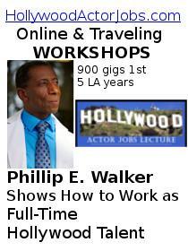 Hollywood Actor Jobs WORKSHOP Poster