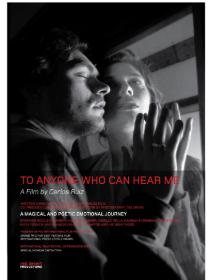 TO ANYONE WHO CAN HEAR ME Poster