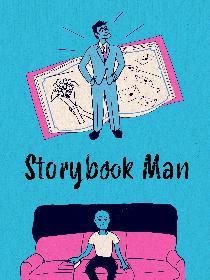 Storybook Man Poster