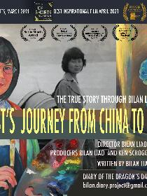 An Artist's Journey from China to America Poster