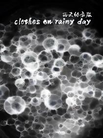 clothes on rainy day Poster