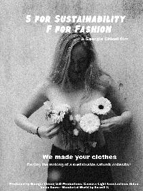 S for Sustainability F for Fashion Poster