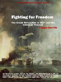 Fighting for Freedom - The Greek Revolution in 1821 and the Island of Thassos Poster