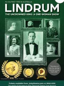 Lindrum The Uncrowned King: A One Woman Show Poster