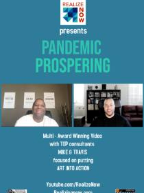 Pandemic Prospering Poster
