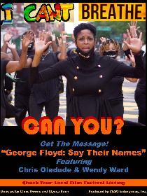 GEORGE FLOYD: SAY THEIR NAMES Poster